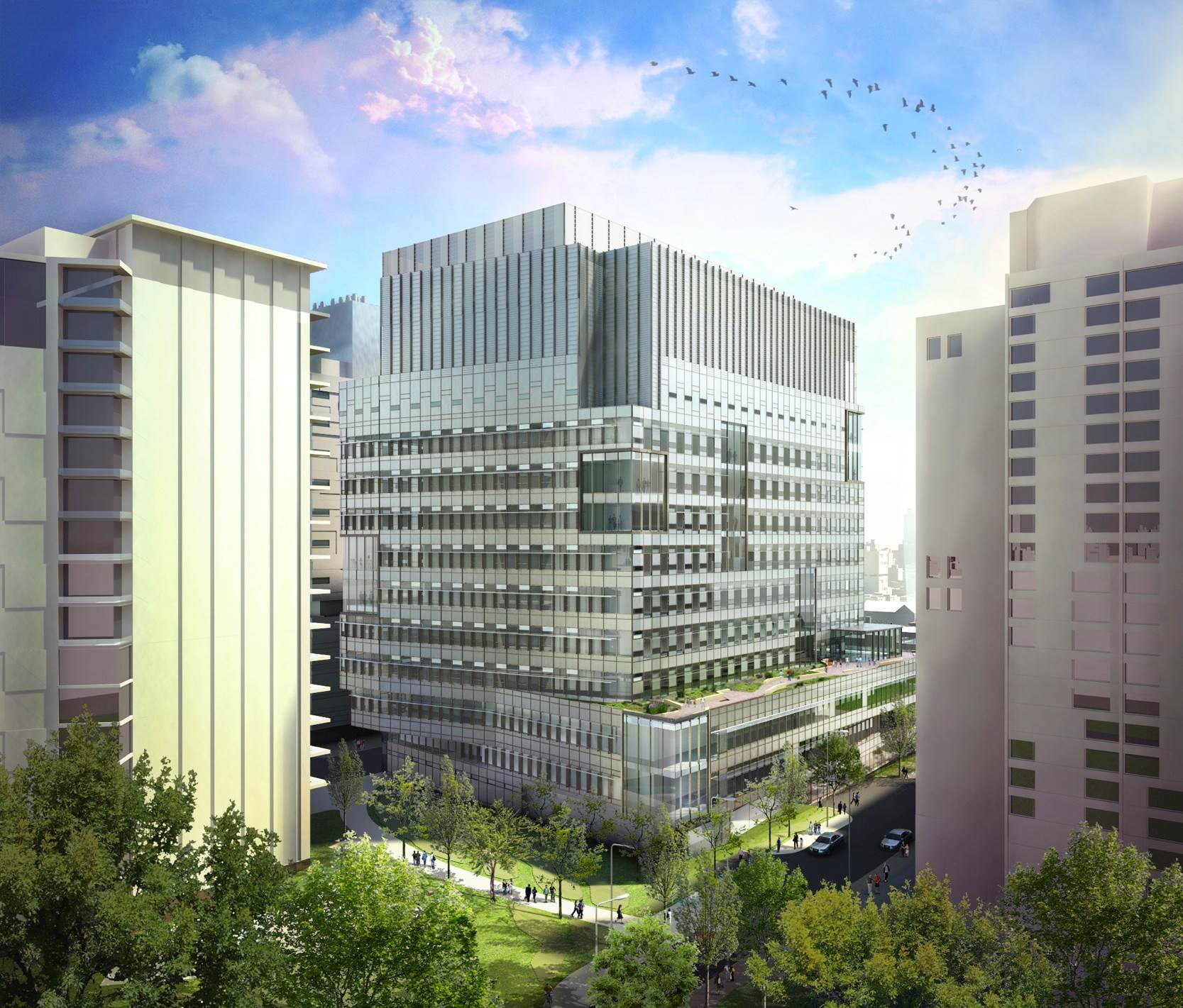 Brigham & Women's Hospital Building for the Future Named ENR Best Healthcare Project in New England